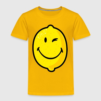SmileyWorld Smiling Lemon - Toddler Premium T-Shirt
