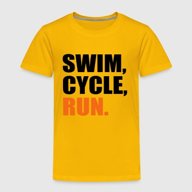 triathlon - Toddler Premium T-Shirt