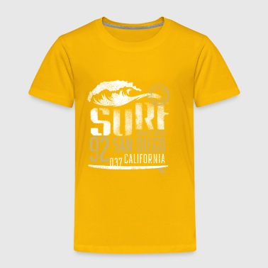 surf beach san diego - Toddler Premium T-Shirt