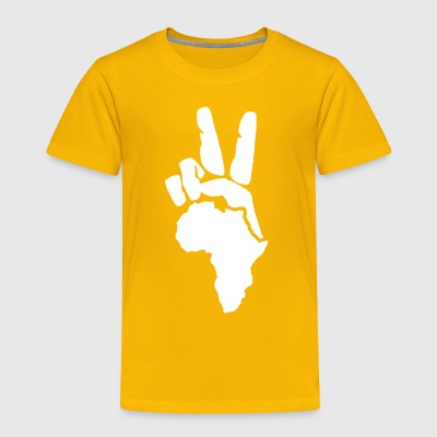 Peace To Africa - Toddler Premium T-Shirt
