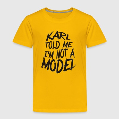 Model Carate - Toddler Premium T-Shirt