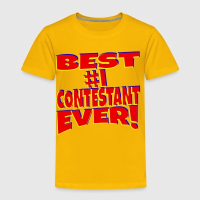 TV Game Show Contestant - TPIR (The Price Is...) - Toddler Premium T-Shirt