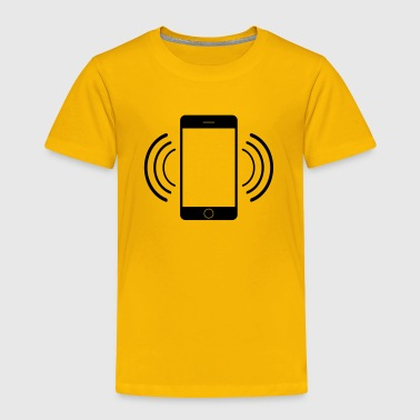 Vibrating mobile phone - Toddler Premium T-Shirt