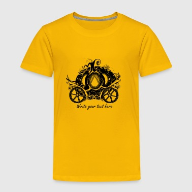 A Pumpkin Carriage - Toddler Premium T-Shirt