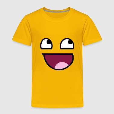 Awesome Face - Toddler Premium T-Shirt