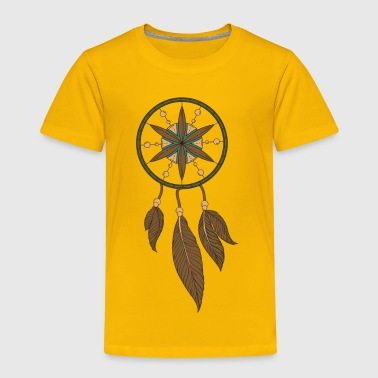 Brown Dream Catcher - Toddler Premium T-Shirt