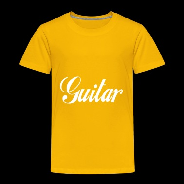 Guitar - Toddler Premium T-Shirt