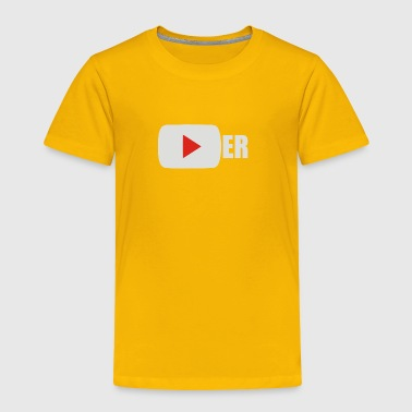 YouTuber - Toddler Premium T-Shirt