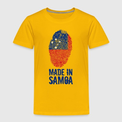 Made In Samoa - Toddler Premium T-Shirt