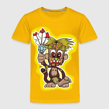 Monkey Shaman - Toddler Premium T-Shirt