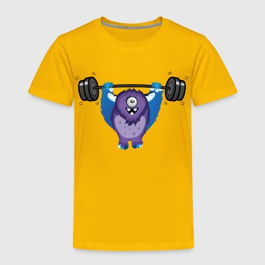 Unleash the monster, unleash the beast - Toddler Premium T-Shirt