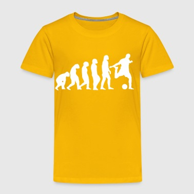 Football Evolution - Toddler Premium T-Shirt