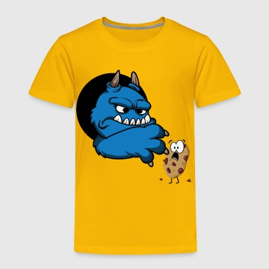 Cookie monster - Toddler Premium T-Shirt