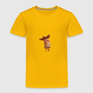 sombrero sheriff - Toddler Premium T-Shirt