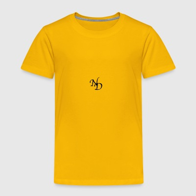 ND LOGO - Toddler Premium T-Shirt