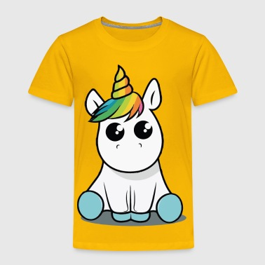 Baby unicorn funny costume - Toddler Premium T-Shirt