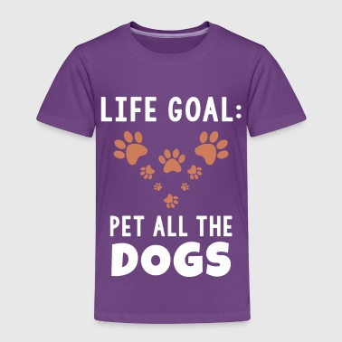 Pet all the dogs - Toddler Premium T-Shirt