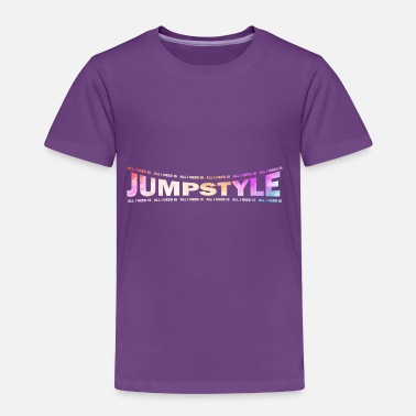 Jumpstyle LOVE TECHNO GESCHENK goa pbm JUMPSTYLE hippie - Toddler Premium T-Shirt