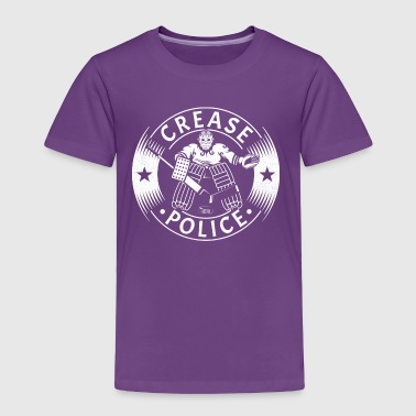 Crease Police (Hockey Goalie) - Toddler Premium T-Shirt