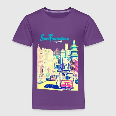 San Francisco vintage mode - Toddler Premium T-Shirt
