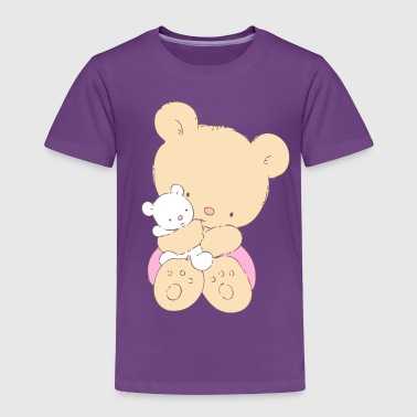 Bear hugging toy Teddy bear - Toddler Premium T-Shirt