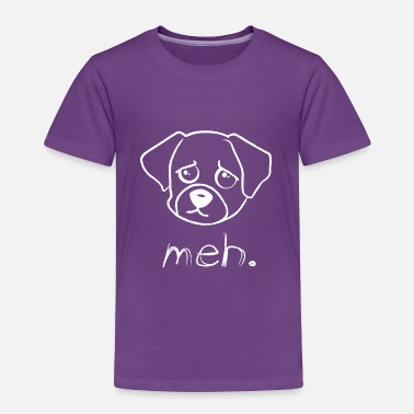 Bad Mood The annoyed dog - Toddler Premium T-Shirt