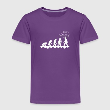 Christian Funny Evolution design for geeks and nerds - Toddler Premium T-Shirt