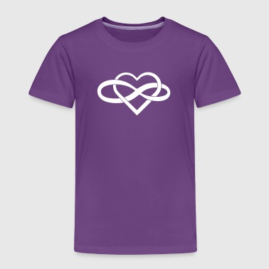Infinity Heart - Toddler Premium T-Shirt