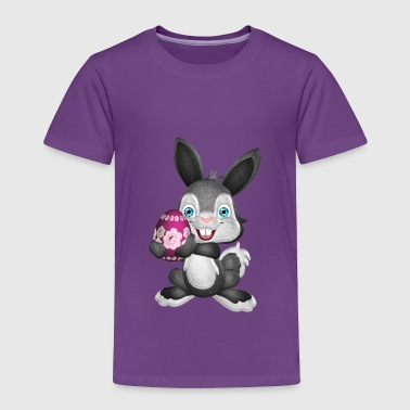Fluffy Easter Bunny - Toddler Premium T-Shirt