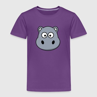 Hippo Cute Hippo! - Toddler Premium T-Shirt