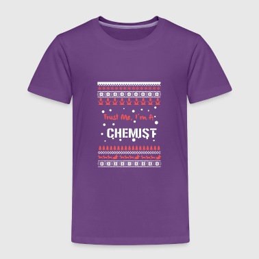 Chemist Christmas Shirt - Toddler Premium T-Shirt