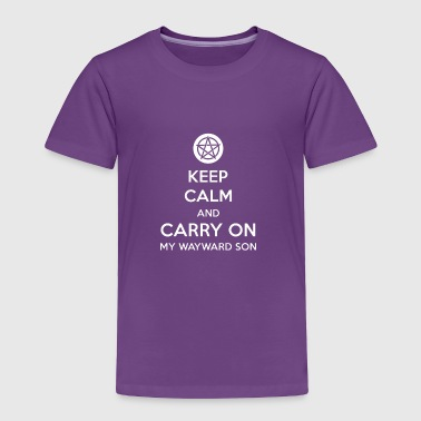 Keep Calm and Carry On - Toddler Premium T-Shirt