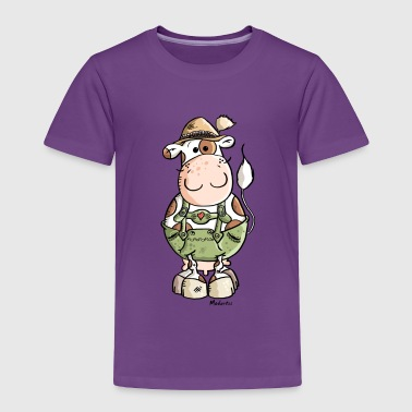 Bavarian Cow - Toddler Premium T-Shirt
