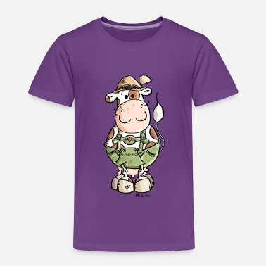 Cow Bavarian Cow - Toddler Premium T-Shirt