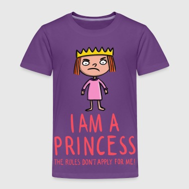 The rules don't apply for a princess - Toddler Premium T-Shirt