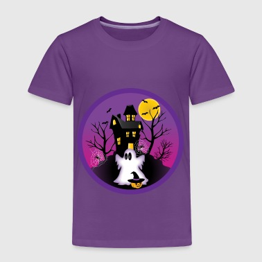 Spooky Halloween Ghost - Toddler Premium T-Shirt