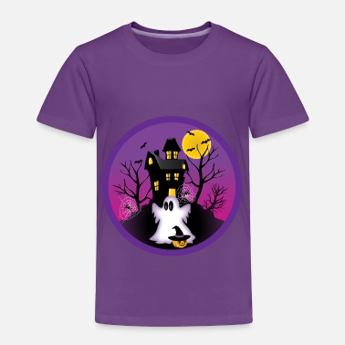 Ghost Spooky Halloween Ghost - Toddler Premium T-Shirt