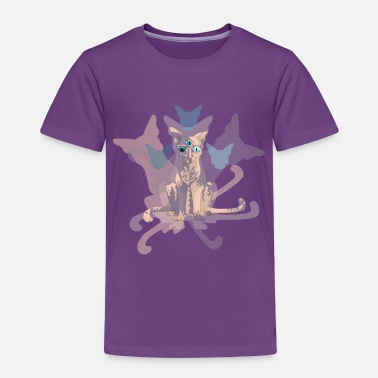 Obscure Feline of Obscure Symmetry - Toddler Premium T-Shirt