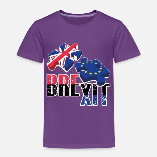 Eu Baby Clothing - Brexit- EU - Toddler Premium T-Shirt purple