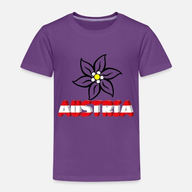 Austria Austria with edelweiss - Toddler Premium T-Shirt