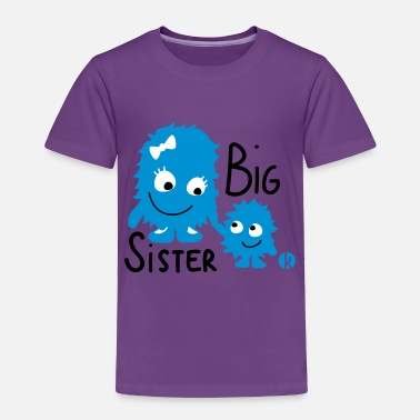 Big Big Sister - Toddler Premium T-Shirt