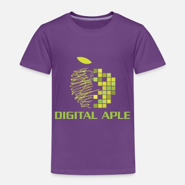 Digital Digital Aple - Toddler Premium T-Shirt