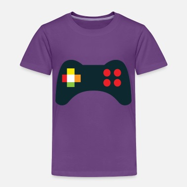 Console console GAMERS - Toddler Premium T-Shirt
