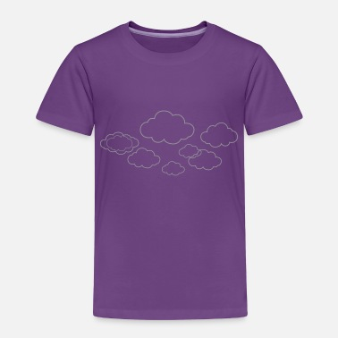 Cloud Clouds - Toddler Premium T-Shirt