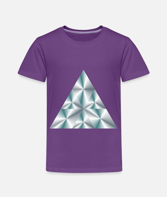 Pyramid T-Shirts - Prism 14 - Toddler Premium T-Shirt purple
