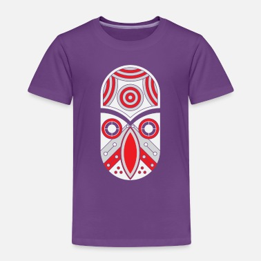 Rectangle ornamental aztec tribal - Toddler Premium T-Shirt