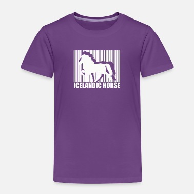 Island Icelandic Horse: Pony Merch - Toddler Premium T-Shirt