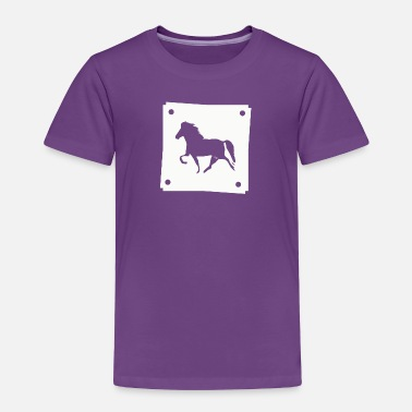 Pony Icelandic Horse: Pony Merch - Toddler Premium T-Shirt