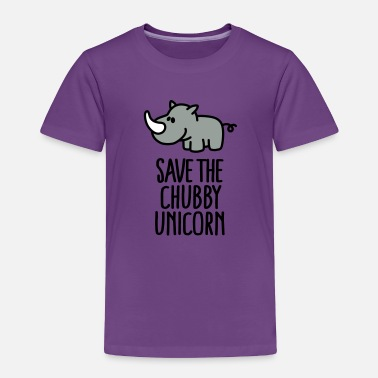Fat Save the chubby unicorn - Toddler Premium T-Shirt