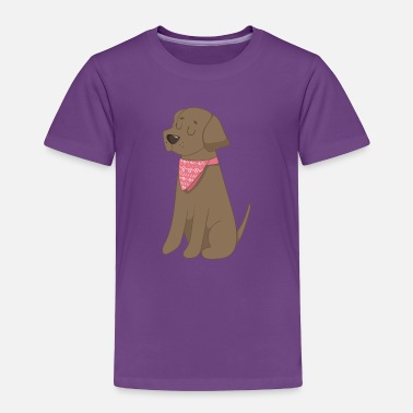 Lab Lab dog~ - Toddler Premium T-Shirt